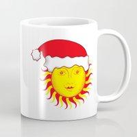 Sun: Merry Christmas Mug