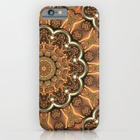 Molten Copper Mandala iPhone 6 Slim Case