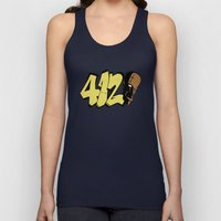 BLANKM GEAR - FOUR ONE DUECE (COLOR) Unisex Tank Top