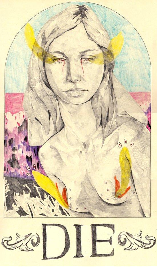 DIE Canvas Print