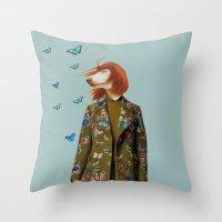Polaroid n°39 Throw Pillow