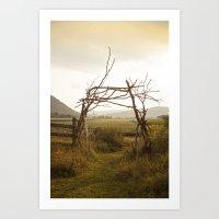 Enter Nature Art Print