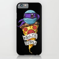 iPhone & iPod Case featuring Ninja Squirtle Donatello by Johnaddyn