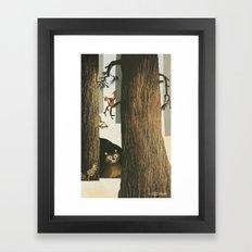 Still Winter Framed Art Print