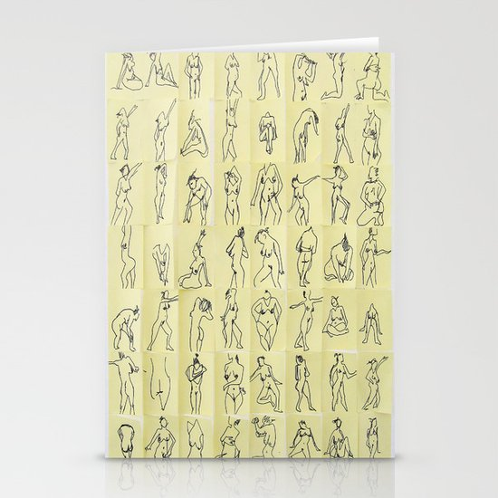 Naked ladies Stationery Card