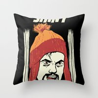The Shiny Throw Pillow