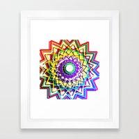 Roller Coaster Framed Art Print