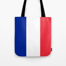 The National Flag of France - Authentic Version Tote Bag