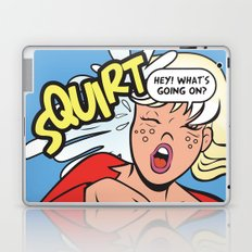 Hey! What's going on? Squirt... Laptop & iPad Skin