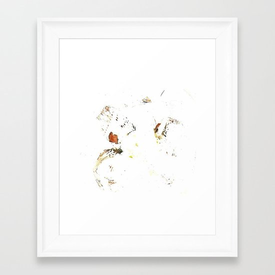 Flower Press Framed Art Print