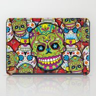 Sugar Skulls iPad Case