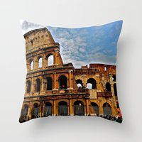 Do as the Roman's do Throw Pillow
