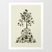 Music Tree Art Print