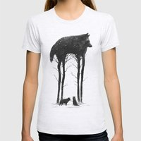 Standing Tall Womens Fitted Tee Ash Grey SMALL
