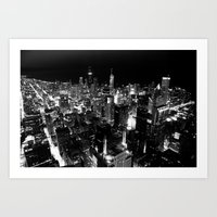 The City Where Wind Blow Art Print