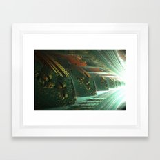 Cannon Battery (Light) Framed Art Print