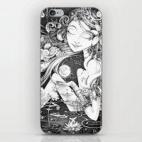 Ma Bella Luna iPhone & iPod Skin