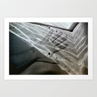 Wading In The Water Art Print