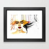 Mad times Framed Art Print