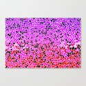 THINK LILAC CORAL Canvas Print