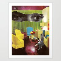 Eyes across the Universe Art Print