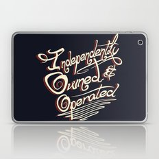 Independently Owned & Operated Laptop & iPad Skin
