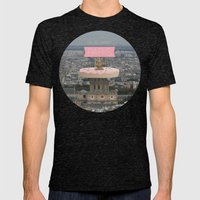 OH SO SWEET PARIS Mens Fitted Tee Tri-Black SMALL