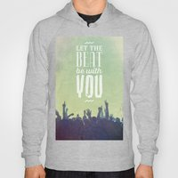 Let the beat Hoody