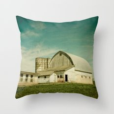 Route 661 Barn Throw Pillow