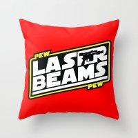 PewPew Throw Pillow