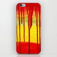 Bleed  Through iPhone & iPod Skin