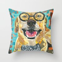 Beau- The Dapper Lab Throw Pillow