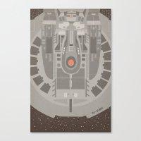 Star Trek NX - 01 Refit Canvas Print