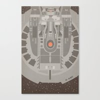 Star Trek NX - 01 Refit Canvas Print