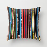 STRIPES 8 Throw Pillow