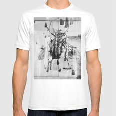 Glory White SMALL Mens Fitted Tee