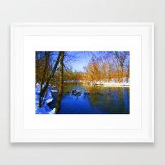 Winter Day Framed Art Print