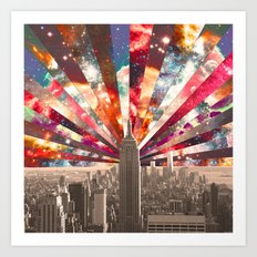 Superstar New York Art Print