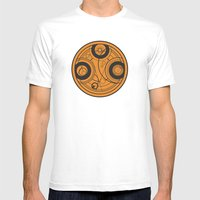 The Seal Of Rassilon Mens Fitted Tee White SMALL