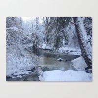St-André River Canvas Print