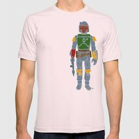 My Favorite Toy - Boba Fett Mens Fitted Tee Light Pink SMALL