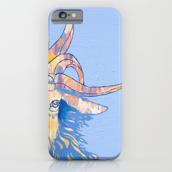5-horned Goat iPhone & iPod Case