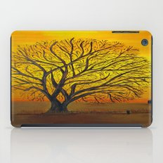 Rural sunset iPad Case
