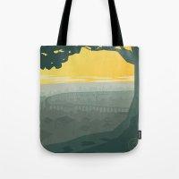 Ba Sing Se Travel Poster Tote Bag