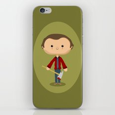 All work and no play iPhone & iPod Skin