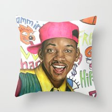 Fresh Prince of Bel Air - Will Smith Throw Pillow