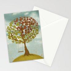 All Seasons Tree Stationery Cards