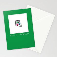 Talk Nerdy to me - Wish you were here Stationery Cards