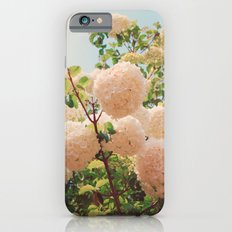 Puffy flowers! iPhone 6 Slim Case