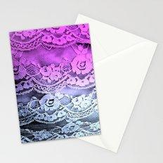 Ombré Lace Stationery Cards